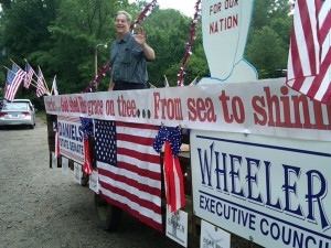 Daniels and Wheeler Float in 4th of July Parade